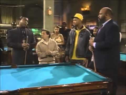 Uncle phil was quite the hustler on fresh prince of bel air for Tv show pool hustlers