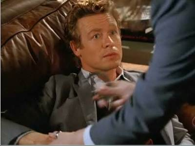 Mentalist Patrick Jane arrested Simon Baker Black Gold and Red Blood screencaps images pictures photos