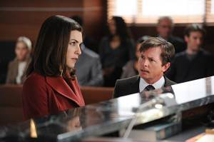 Michael J. Fox Guest Starring on The Good Wife (Photos)