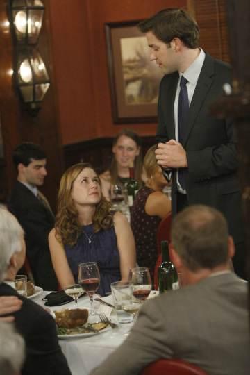 Jim And Pam Wedding Episode.Video The Office Wedding Episode Niagra Six Sneak Peeks