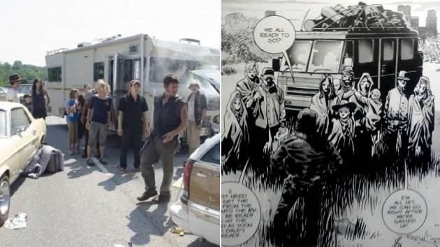 The Walking Dead Season 2 What Lies Ahead Comparison - Cast
