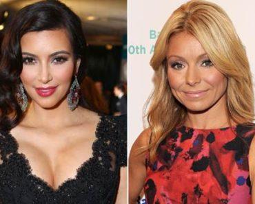 Kim Kardashian on Live with Kelly