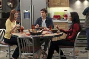 Two and a Half Men 9.19 - Bridget, Walden and Zoey
