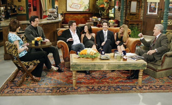 """Cast of """"Friends"""" on the """"Tonight Show with Jay Leno"""""""