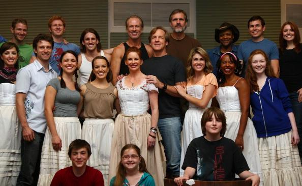 """Little House On The Prairie The Musical"" National Tour Rehearsal"