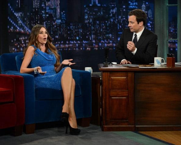 "Sofia Vergara Visits ""Late Night With Jimmy Fallon"""