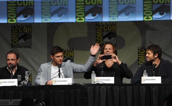 """Supernatural"" Panel - Comic-Con International 2012"