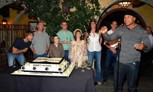 """CBS' """"NCIS: Los Angeles"""" Celebrates The Filming Of Their 100th Episode"""