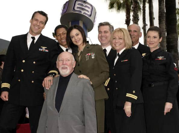 Donald P. Bellisario Is Honored With A Star On The Hollywood Walk Of Fame
