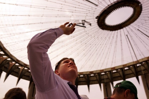 World's Fair Pavilion Open To Public For One Day To Celebrate 50th Anniversary