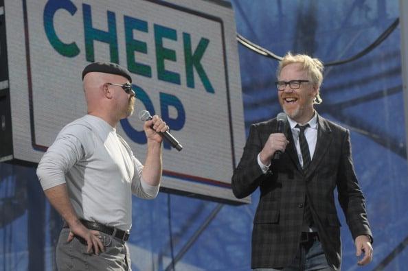 Jon Stewart & Stephen Colbert Host Joint Rallies On The Mall