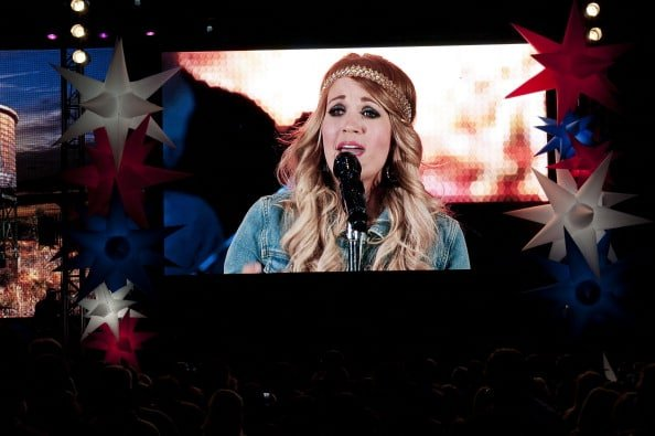 Carrie Underwood Performs In Concert At Lavell Edwards Stadium