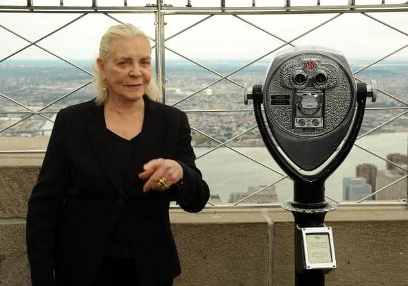Lauren Bacall Lights The Empire State Building