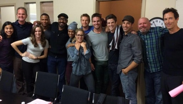 Arrow and Flash casts