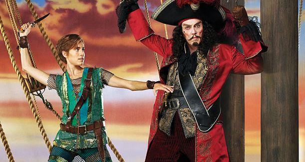 Christopher Walken Peter Pan Live
