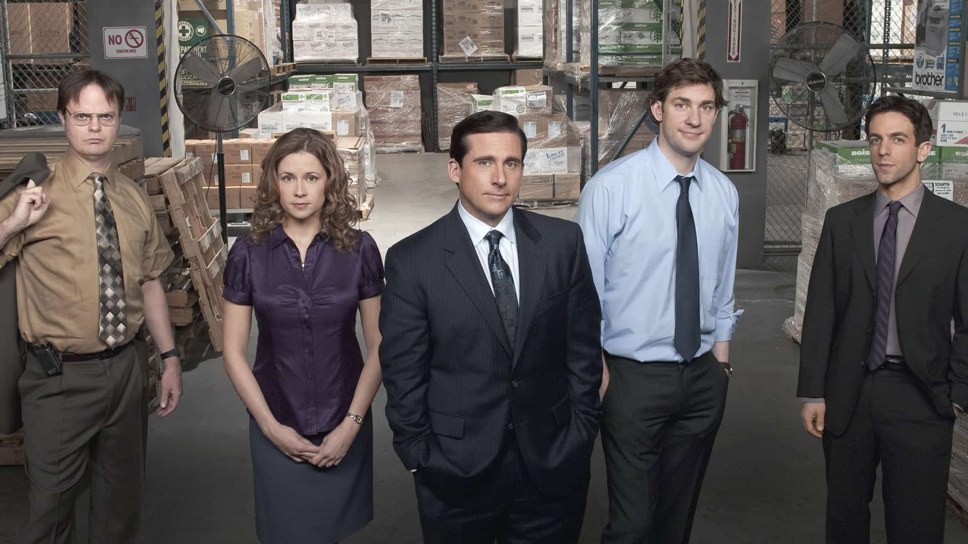 The main cast of The Office