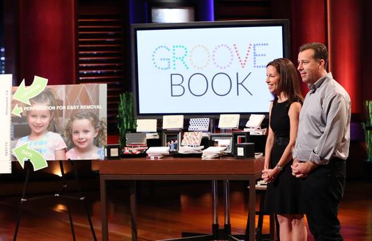 GrooveBook Shark Tank