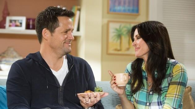 Cougar Town Laurie en Travis dating