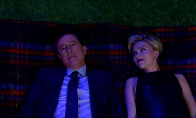 Scarlett Johansson - Stephen Colbert