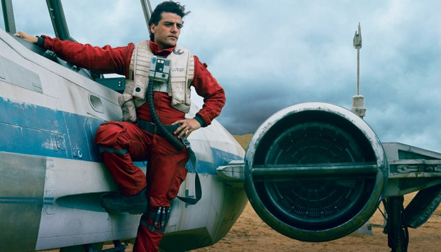 Oscar Isaac in 'Star Wars: The Force Awakens'