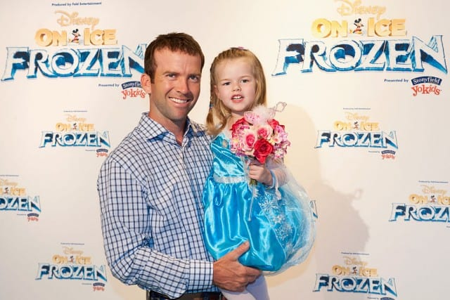 Lucas Black and daughter