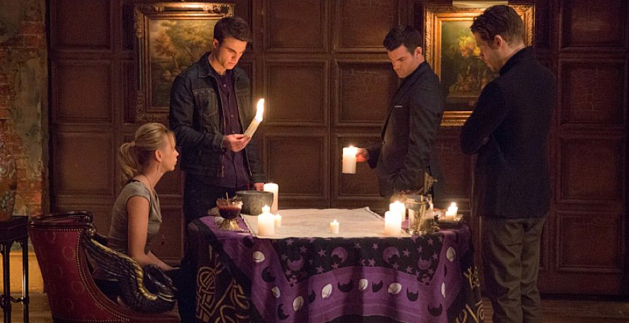 The Originals Mikaelson Family Reunion Almost