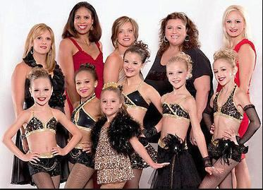 dance moms black and gold