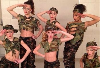 dance moms costume army