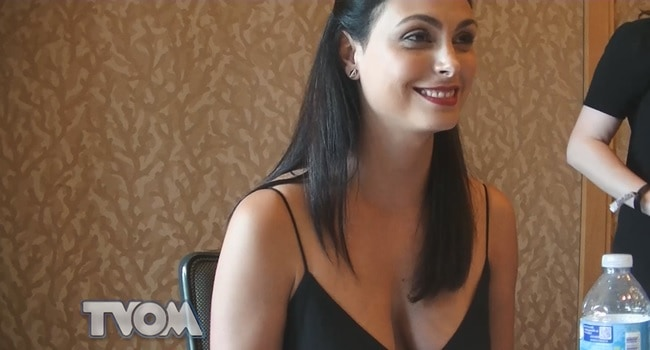 Gotham At Comic Con 2016 Morena Baccarin Talks Leslie S