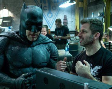 Zack Snyder directing Ben Affleck on 'Batman v Superman'