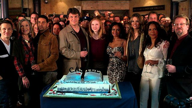 People from Castle - 100th episode