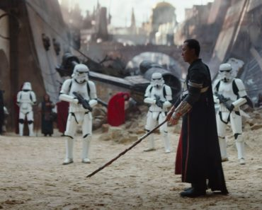 """Donnie Yen in 'Rogue One: A Star Wars Story"""""""