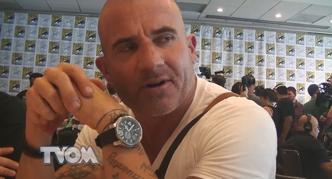 Legends Of Tomorrow TVO Dominic Purcell
