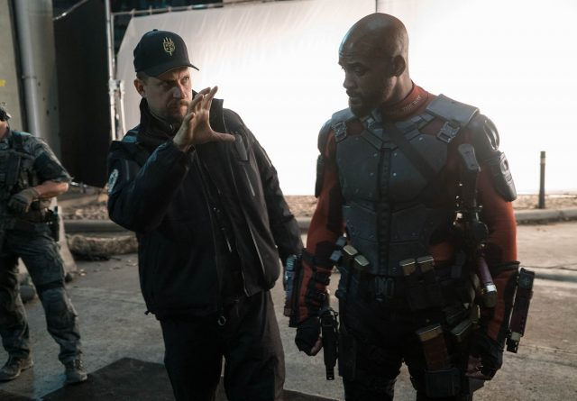 David Ayer directing Will Smith (Deadshot) on 'Suicide Squad'