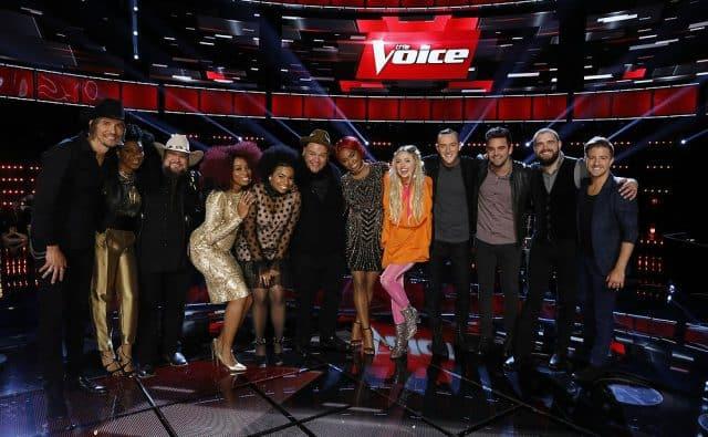The Voice season 11 top 12