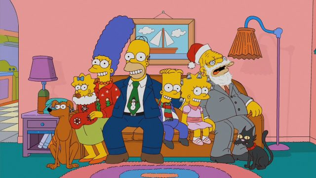 simpsons christmas - The Best Christmas Of All