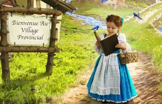 Awesome Dad Creates Beauty And The Beast Photoshoot For His Daughter