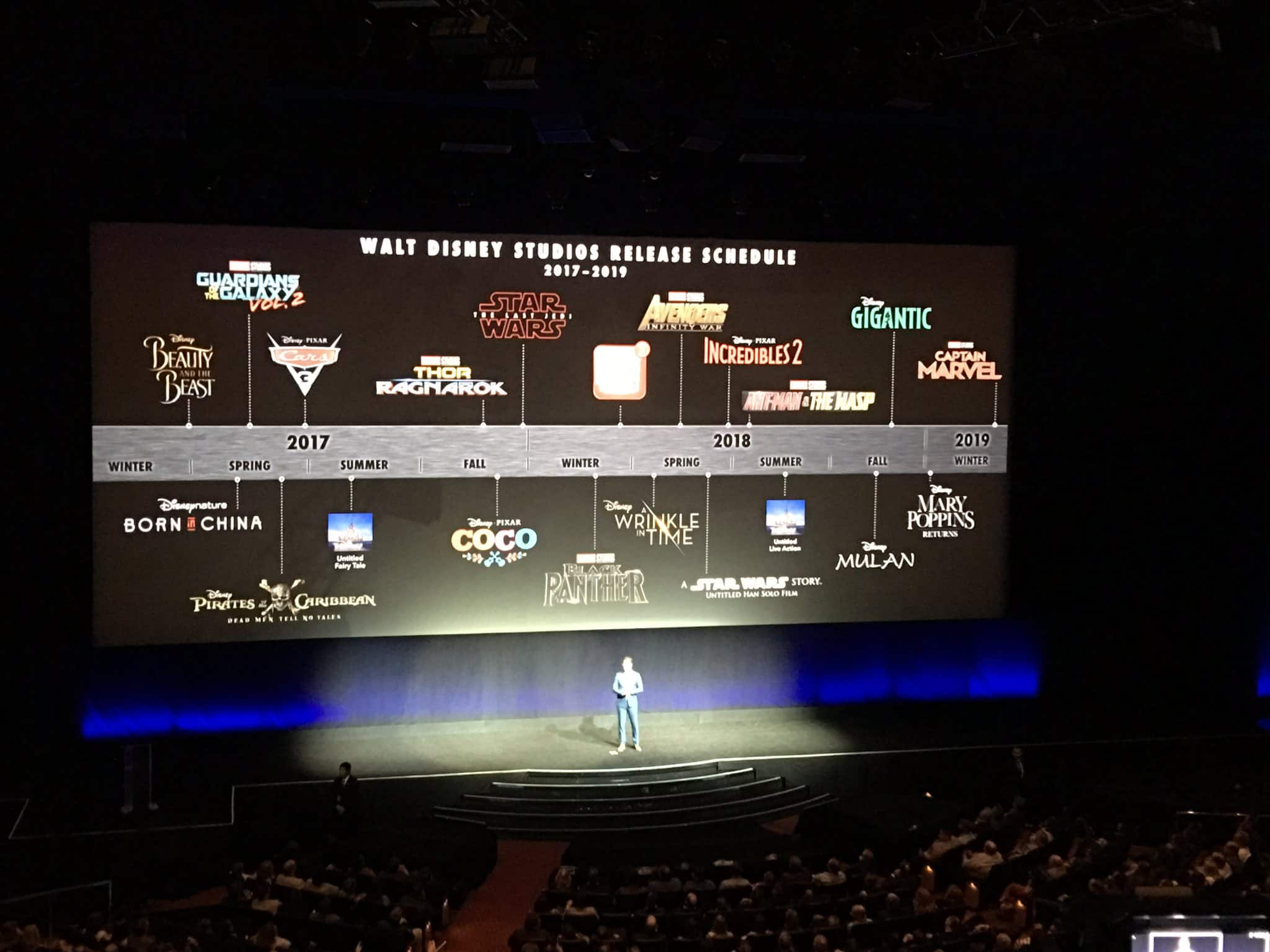 Here is Disney's Full Release Schedule of Movies Up Until