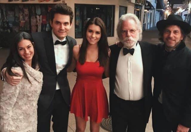 62293712b34 John Mayer Crashes Chapman University Alpha Phi Red Dress Gala