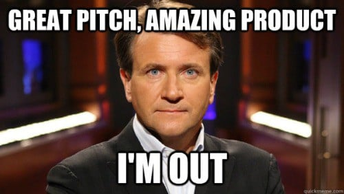 """11 Shark Tank """"I'm Out"""" Memes That'll Make You Chuckle"""