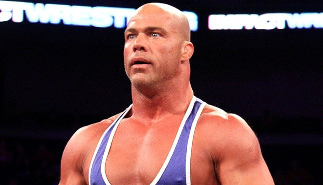Kurt angle says he has numerous matches ahead of him in the wwe - Pictures of kurt angle ...