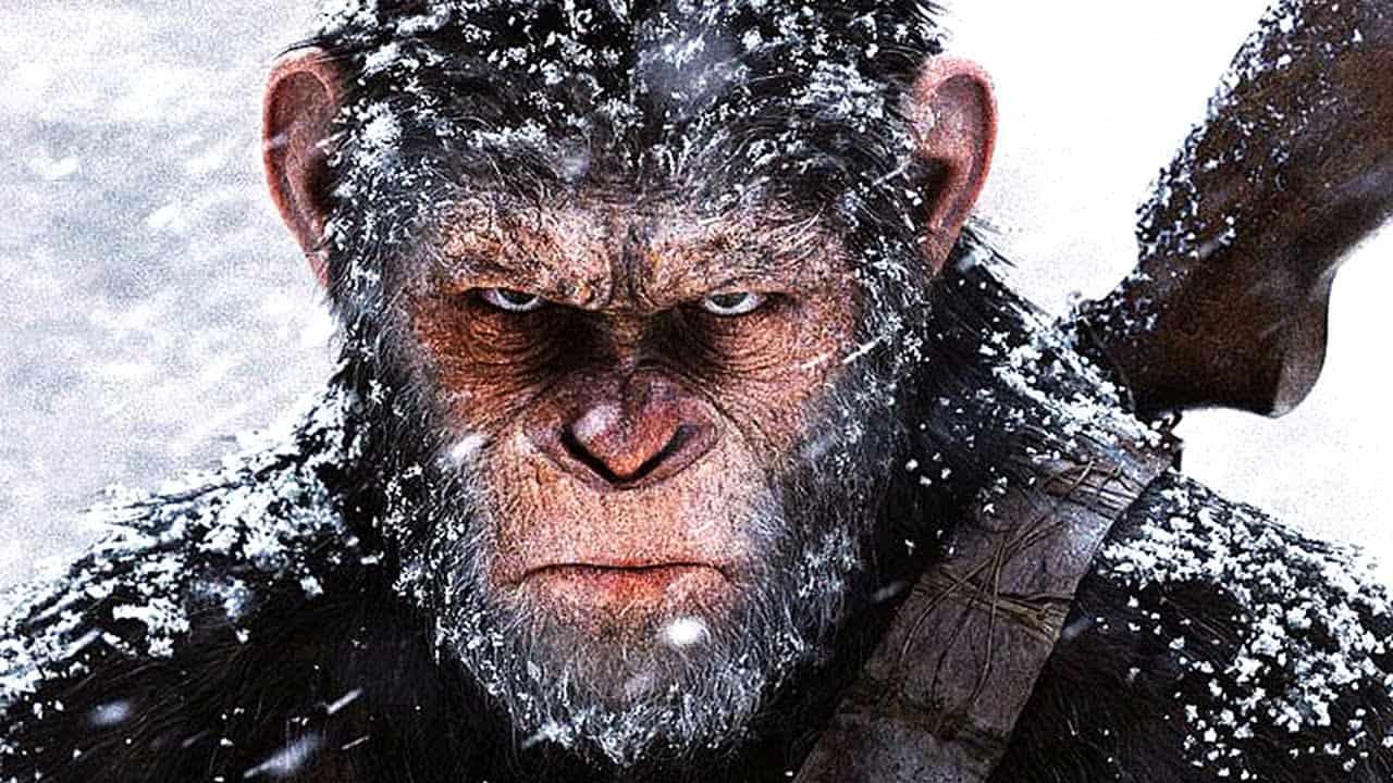 """Képtalálat a következőre: """"war for the planet of the apes poster"""""""