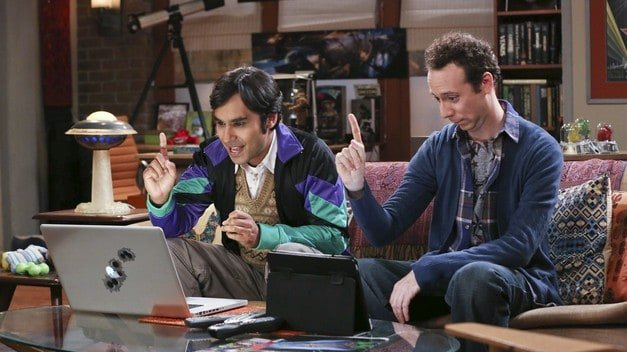 Big Bang Theory Spinoff Idea: Raj and Stu are Two Broke Guys