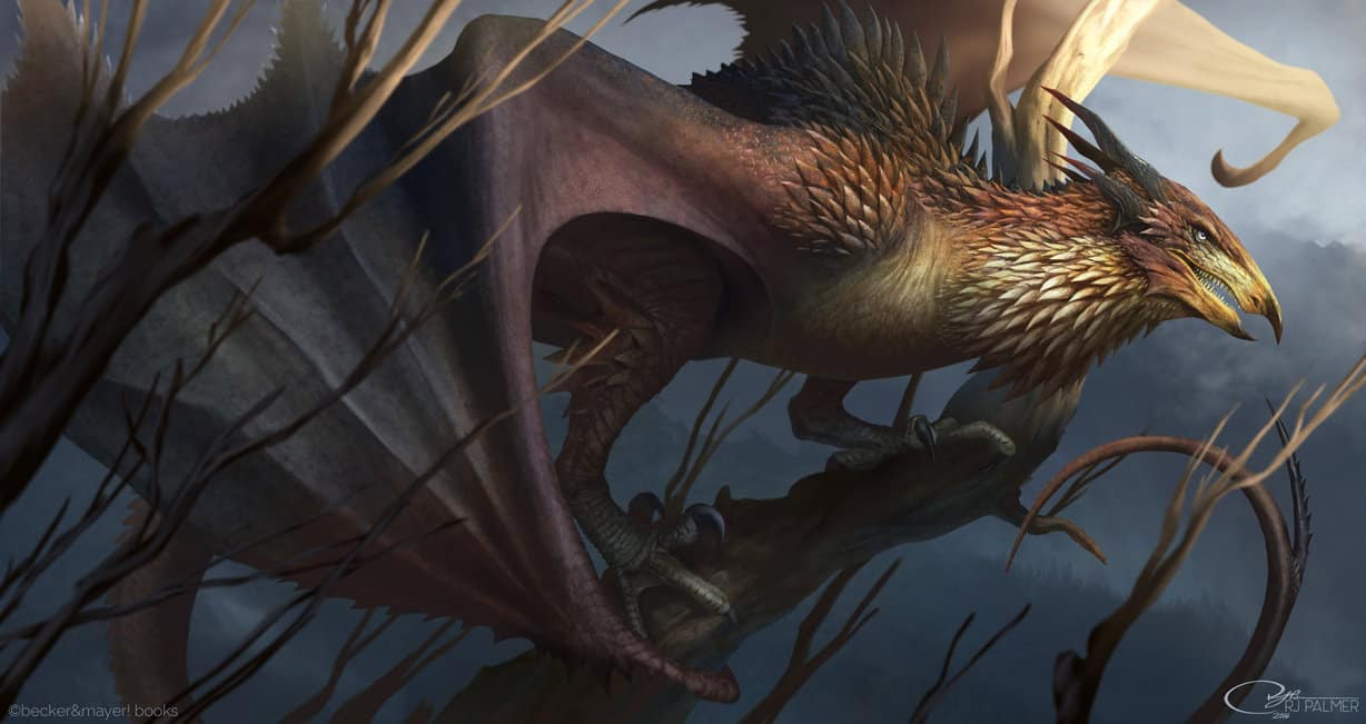 Wyvern Dragon: An Amazing Gallery Of Mythical Dragons By Artist Arvelis