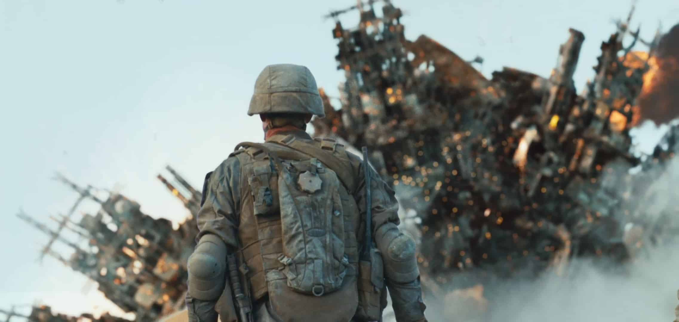BATTLE LOS ANGELES action sci-fi drama military helicopter soldier ...
