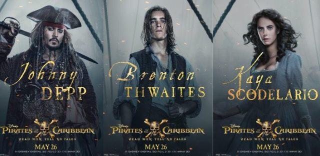 New Pirates of the Caribbean: Dead Men Tell No Tales Cast