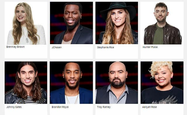 The Last Night of The Voice Season 12 Battles - survivors for Team Gwen