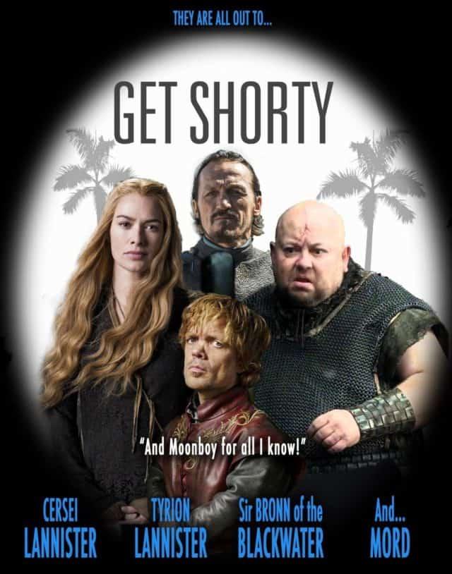 20 Fun Game of Thrones Movie Poster Mashups