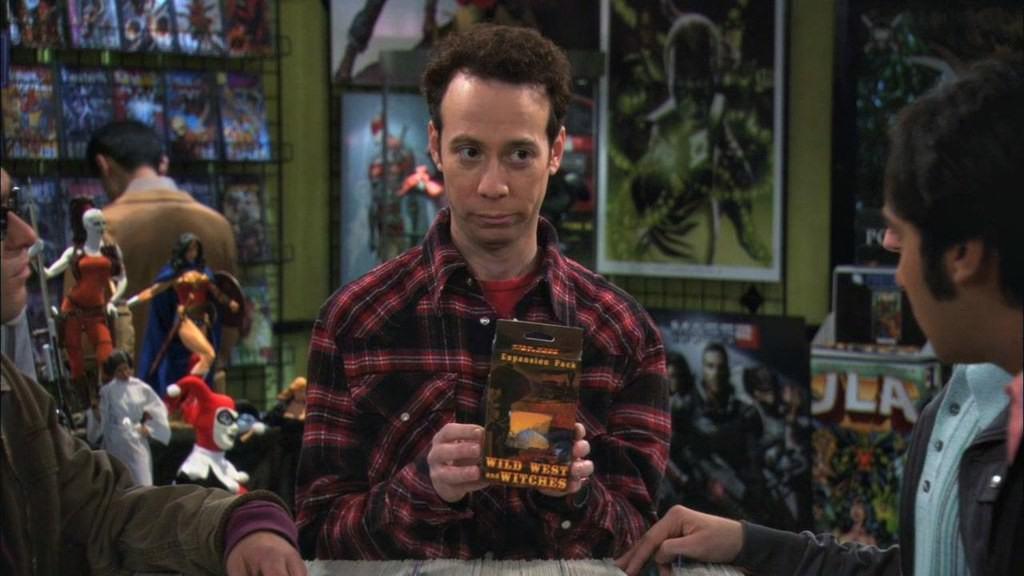 The Big Bang Theory Stuart
