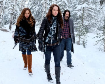 Wynonna Earp with her sister and immortal Doc Holliday